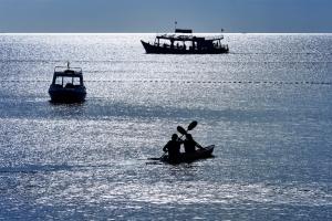 Kayaking in Phu Quoc