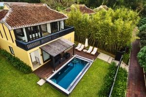 Pool Villa Aerial View
