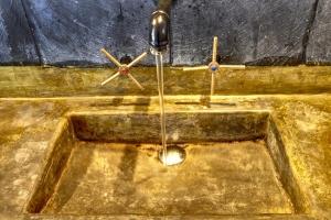 Pool Villa Sink Detail