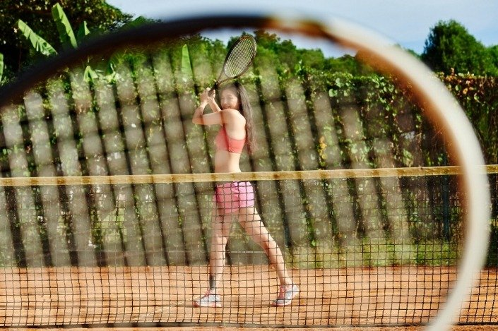 clay tennis court phu quoc