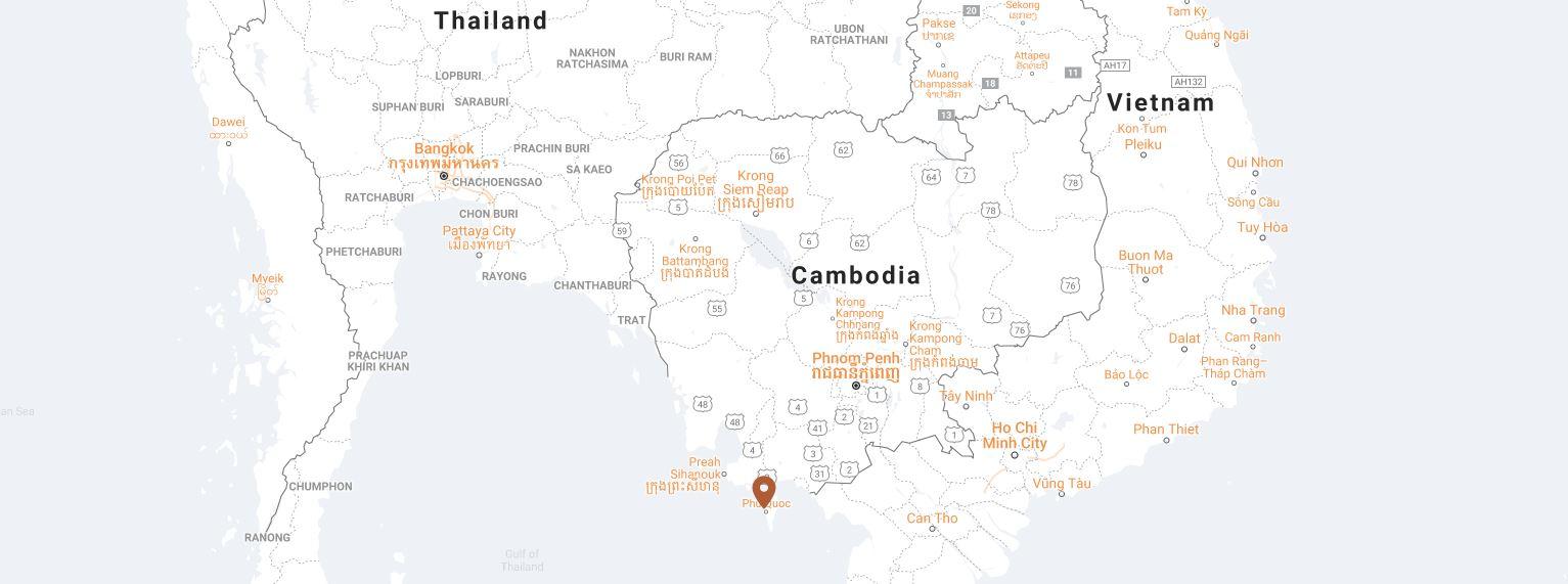 Chen Sea map location