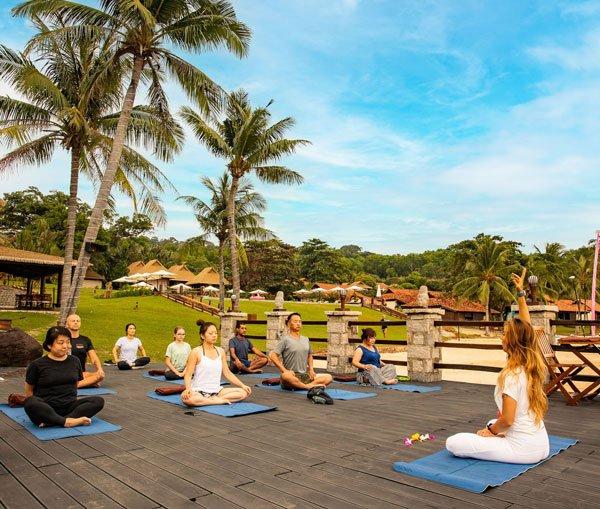 Yoga Practice by Alyona