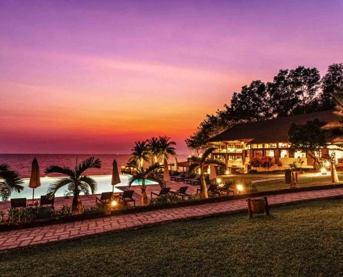 Chen Sea Evening Sunset