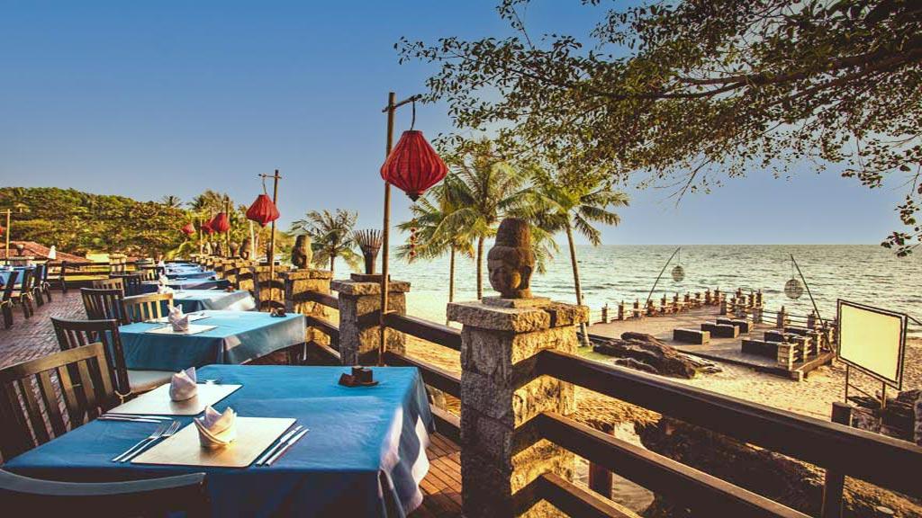 Italian Restaurant by the beach
