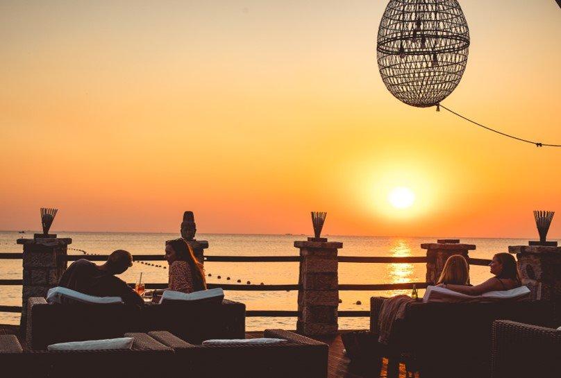 Stunning Sunset at Chen Sea Bar