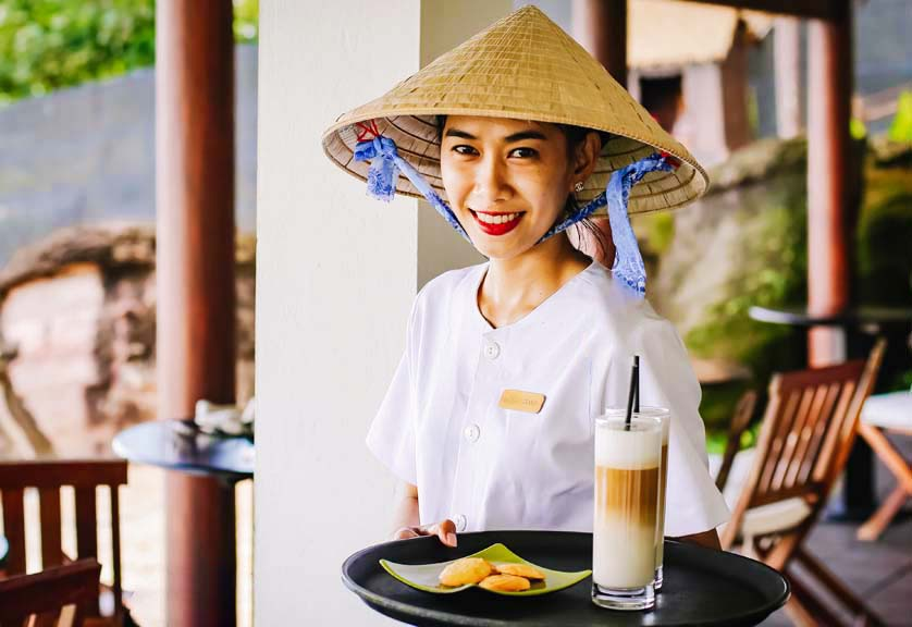 Your drink is served at Chen Sea Bar