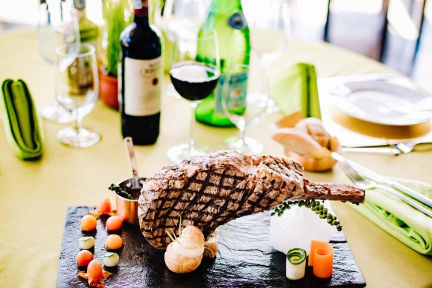 Tomahawk Steak Dinner Specialty
